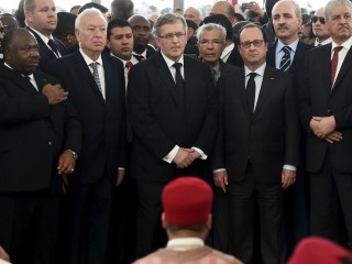World Leaders Join Tunisians In March Against Violence