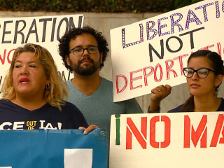 Immigrant Groups Protest Increased Arrests