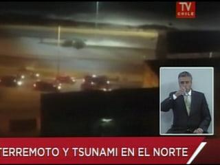 Sirens Sound as Quake Strikes off Chilean Coast