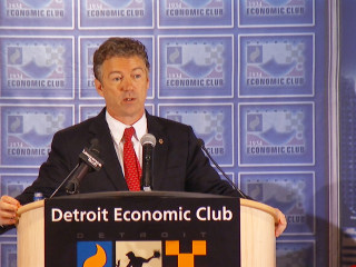 Paul offers 'Freedom zones' to save Detroit