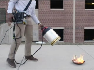 Watch Students Pump Up the Bass to Put Out Fire