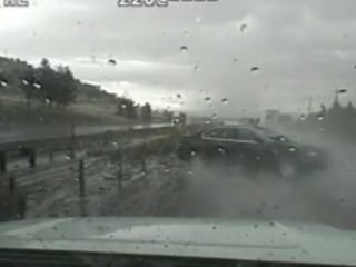 Trooper Dodges Serious Injury From Out-of-Control Car