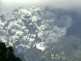 Mt. Ontake Volcanic Eruption Caught On Camera