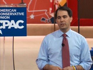 Gov. Walker Rips Obama on Economy, Foreign Policy