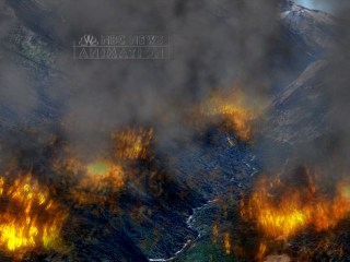3D Animation Illustrates Challenges in Fighting Chelan Wildfire