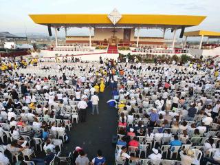 Watch Live: Pope Celebrates Mass in Ecuador