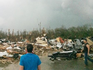 Officials Hold Tornado News Conference