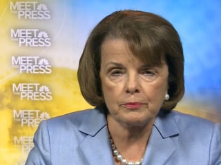 Sen. Feinstein on MTP: 'I Believe the Goal Is Baghdad'