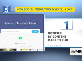 5 new social media tools you'll love