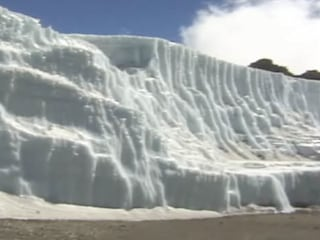 Glaciers shrinking at 'alarming' rate