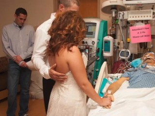 Couple Weds at Dying Father's Bedside