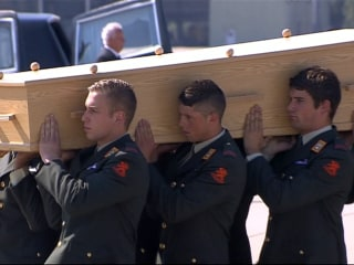 Day of Mourning in the Netherlands as MH17 Victims Arrive