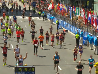 'An Honor to Be Here': Marathon Spectators Cast Aside Fears