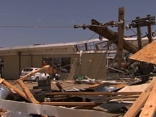 Tornado Survivors Recount Storm's Terrifying Moments