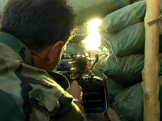 Firsthand Look at ISIS Fighters on Frontlines in Iraq