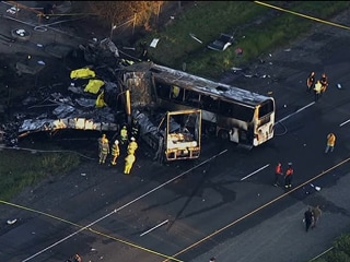 FedEx Driver Didn't Brake Before Deadly Bus Crash
