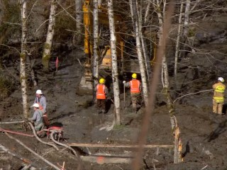 Mudslide Recovery Is Slow, Heartbreaking Work