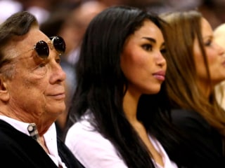 Clippers' Players Protest Donald Sterling in Playoff Game