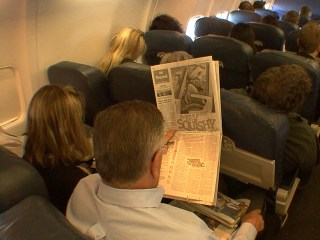 Battle Over Legroom Rages Among Cramped Passengers Everywhere