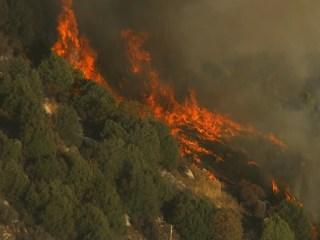 Airtanker Crashes Near Dog Rock Fire in Yosemite