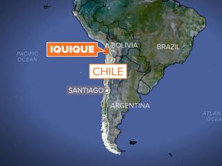 8.2 Magnitude Quake Strikes Off Chilean Coast