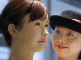 Meet a Frighteningly Human Robot