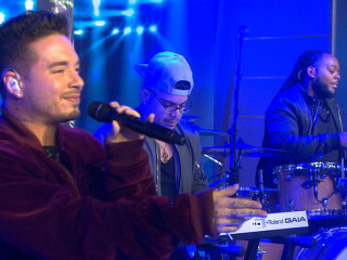 Colombian Reggaetonero J Balvin Sings His Single 'Ginza' on TODAY Show
