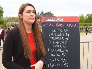 Betting Shop Reacts to new Royal Baby Name