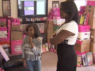 Girl Collects 1,000 Dolls to Give Away to Good Causes
