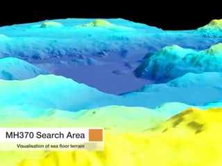 Search for MH370 Reveals Dramatic Ocean Landscape