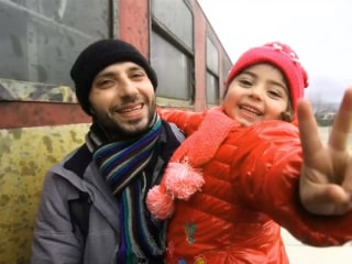 The Lucky Ones? Refugees, Migrants on 'Balkan Route' Board Train