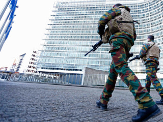 Belgian Capital Enters Third Day of Lockdown After 'Imminent Threat'