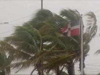 Tropical Storm Erika Passes Caribbean Islands