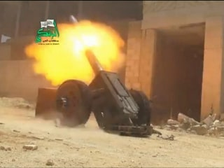 Intense Fighting As Syrian Rebels Launch New Offensive
