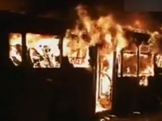 Arsonist Hunted After Bus Fire Kills 17 in China