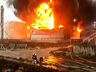 Huge Blaze Follows Explosion at Chemical Plant in Eastern China