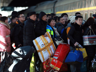 Peak Travel Period Ahead of Chinese New Year Holidays