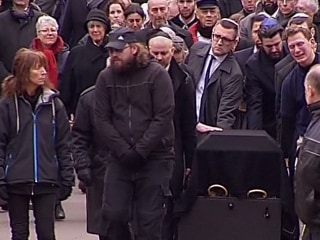 Hundreds Attend Funeral of Jewish Guard in Copenhagen