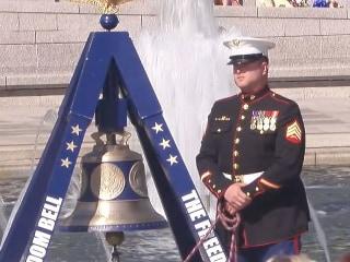 World War II Vets Honor The Fallen at National Memorial