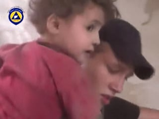 Caught on Camera: Syrian Rescue Team Caught Up in Explosion