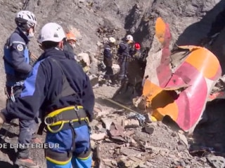 Investigators Scour Germanwings Crash Site for Second Black Box