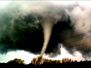 Amateur Video Captures Approach of German Tornado