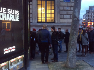 Latest Edition of Charlie Hebdo Goes on Sale in Paris