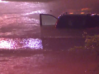 Thunderstorms in Houston Drop Historic Rainfall