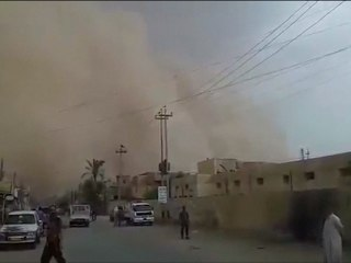 Caught On Camera: Giant Sandstorm Turns Day to Night