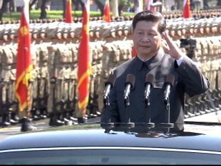 China's President Xi Uses World War 2 Parade as Show of Strength