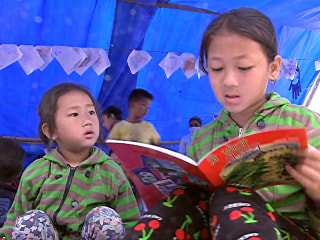 Safe Zone for Kids Caught Up in Nepal Quake