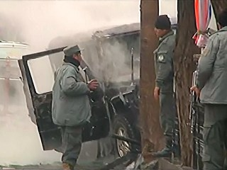 Taliban Suicide Bomber Hits Coalition Convoy in Kabul