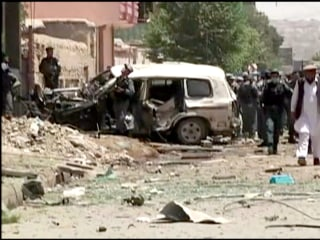 Taliban Suicide Car Bomb Targets NATO Convoy in Kabul