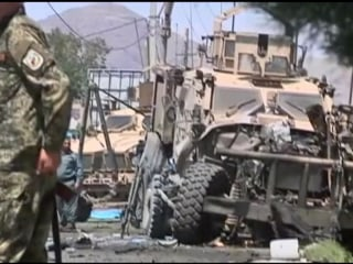 Kabul Suicide Bomber Targets Foreign Military Convoy